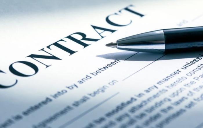 plumbing work contract